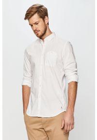 Biała koszula Tom Tailor Denim button down, na co dzień, casualowa