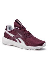 Czerwone buty do fitnessu Reebok z cholewką, na co dzień
