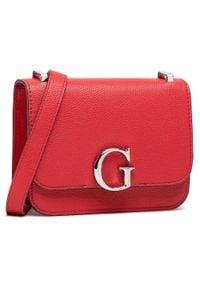 Guess - Torebka GUESS - Corily Mini HWVY79 91780 RED. Kolor: czerwony. Materiał: skórzane