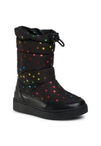 Czarne buty zimowe Bibi na spacer
