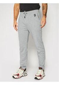 Karl Lagerfeld - KARL LAGERFELD Spodnie dresowe Sweat 705081 502910 Szary Regular Fit. Kolor: szary. Materiał: dresówka
