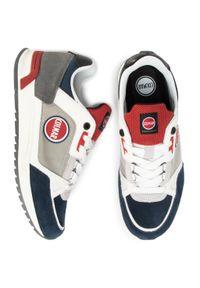 Colmar - Sneakersy COLMAR - Supreme Pro Ross 058 Lt Gray/Red/Navy. Okazja: na co dzień. Kolor: szary. Materiał: skóra ekologiczna, materiał, zamsz. Szerokość cholewki: normalna. Styl: elegancki, sportowy, klasyczny, casual