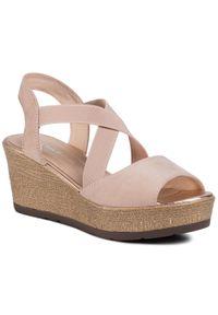 Różowe sandały Clara Barson
