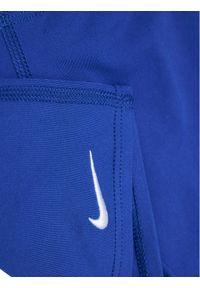 Nike Kąpielówki Poly Solid Ash NESS9742 Granatowy. Kolor: niebieski
