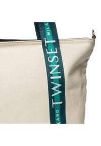 Beżowa torebka klasyczna TwinSet klasyczna