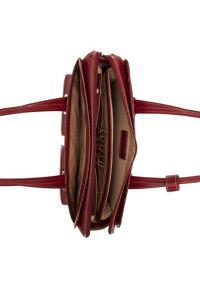 Czerwona torba na laptopa MCKLEIN z aplikacjami, klasyczna