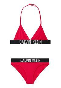 Różowy strój dwuczęściowy Calvin Klein Swimwear