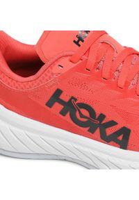 Hoka One One - Buty HOKA ONE ONE - W Carbon x 2 1113527 Hcbi. Kolor: pomarańczowy. Materiał: materiał. Szerokość cholewki: normalna. Sport: wspinaczka, fitness, bieganie