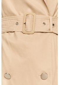 Płaszcz Guess Jeans długi, bez kaptura