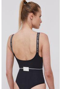 LABELLAMAFIA - LaBellaMafia - Top. Kolor: czarny. Długość rękawa: na ramiączkach. Wzór: nadruk