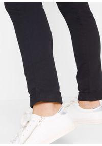 Dżinsy ze stretchem STRAIGHT bonprix czarny twill. Kolor: czarny