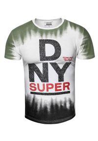 T-shirt z nadrukiem Recea z krótkim rękawem, na co dzień