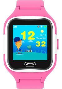 Różowy zegarek Pacific smartwatch