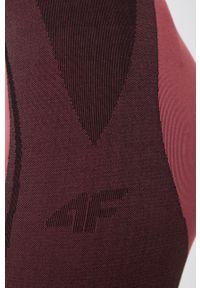 4f - 4F - Legginsy. Kolor: różowy. Materiał: włókno, dzianina, materiał