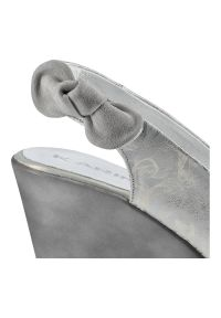Karino - Sandały KARINO 0211/078-P Srebrny. Kolor: srebrny