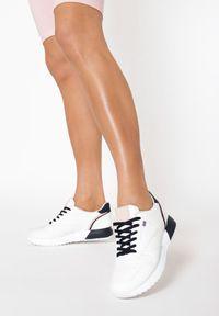 Białe buty sportowe Born2be