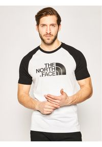 Biały t-shirt The North Face raglanowy rękaw