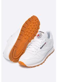 Białe sneakersy Reebok z cholewką