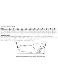 Modini - Biało-granatowe obuwie sportowe T114. Kolor: niebieski, biały, wielokolorowy. Materiał: nubuk, skóra. Styl: sportowy