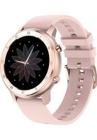 Smartwatch ZAXER DT89 Różowy. Rodzaj zegarka: smartwatch. Kolor: różowy