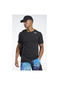 Koszulka treningowa męska Reebok Speedwick Move FJ4623. Materiał: poliester, bawełna, materiał. Długość rękawa: krótki rękaw. Długość: krótkie. Sport: fitness
