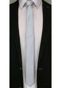 Szary krawat Angelo di Monti