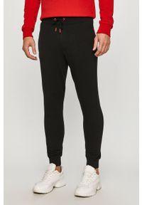 Czarne spodnie Guess Jeans casualowe, na co dzień
