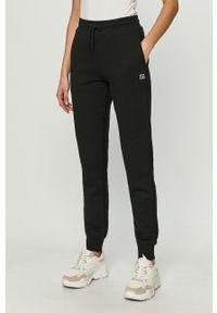 Czarne spodnie dresowe Russell Athletic