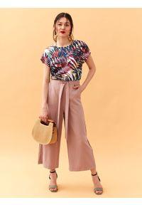 Różowe spodnie TOP SECRET