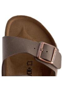 Brązowe sandały Birkenstock klasyczne, na lato, na co dzień