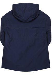 Niebieska kurtka przejściowa TOMMY HILFIGER