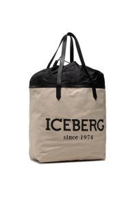 Iceberg - Torebka ICEBERG - 21E P2P1 7208 6904 1104 Ecru. Kolor: beżowy. Styl: klasyczny