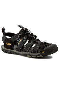 Czarne sandały trekkingowe keen trekkingowe, na wiosnę
