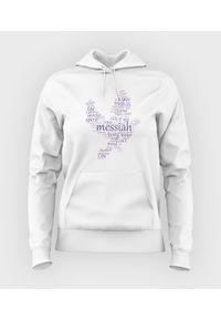 MegaKoszulki - Bluza damska z kapturem Messiah. Typ kołnierza: kaptur