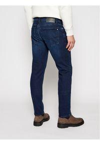 Pierre Cardin Jeansy 3451/000/8807 Granatowy Tapered Fit. Kolor: niebieski. Materiał: jeans