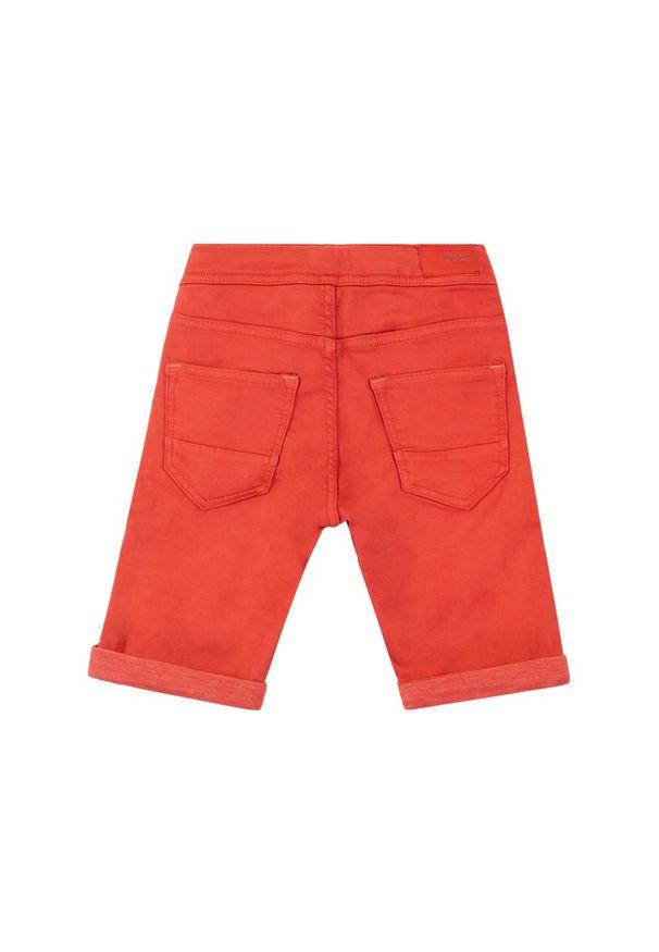 Pomarańczowe spodenki Pepe Jeans