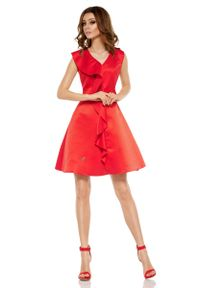 Czerwona sukienka na wesele Lemoniade