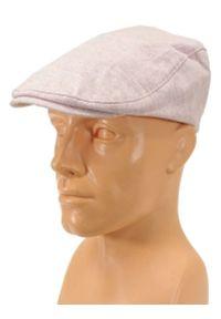 Różowa czapka Pako Jeans na lato, wakacyjna
