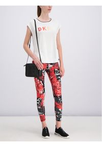 Biały t-shirt DKNY Sport sportowy