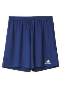 Adidas - Spodenki adidas Parma Jr AJ5883. Materiał: skóra, materiał. Technologia: ClimaLite (Adidas). Sport: piłka nożna