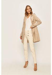 Płaszcz Guess Jeans długi, bez kaptura #7