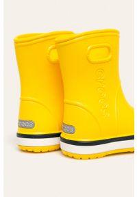 Żółte kalosze Crocs