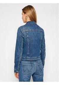 Marc O'Polo Kurtka jeansowa 102 9216 25035 Granatowy Regular Fit. Typ kołnierza: polo. Kolor: niebieski. Materiał: jeans