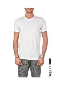 Xagon Man T-shirt. Okazja: na co dzień. Materiał: tkanina. Styl: casual