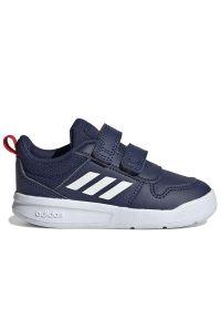 Adidas - adidas Tensaur > S24053. Zapięcie: rzepy. Materiał: syntetyk, guma, materiał. Szerokość cholewki: normalna. Wzór: paski