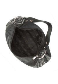 Czarna torebka Wittchen elegancka, z aplikacjami, zdobiona