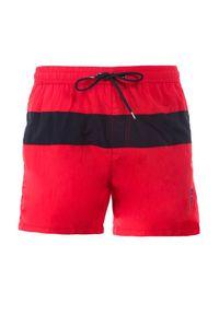 Born2be - Czerwone Szorty Dianora. Kolor: czerwony #5