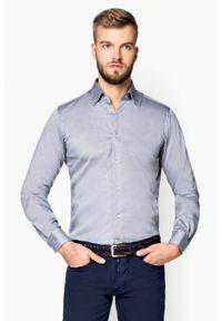 Szara koszula Lancerto wizytowa, na spotkanie biznesowe #1