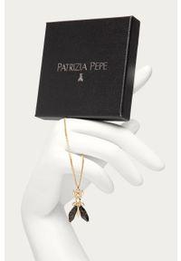 Złota bransoletka Patrizia Pepe z aplikacjami, metalowa