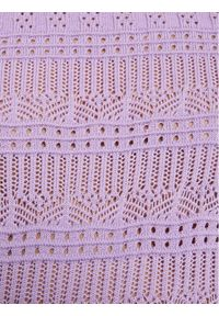 Morgan Sweter 211-MLILOU Fioletowy Regular Fit. Kolor: fioletowy